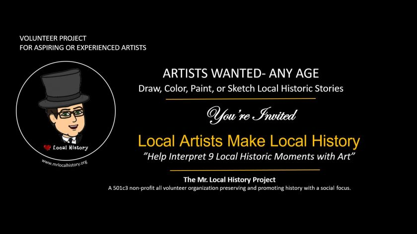 Local art and local history project - Mr Local History