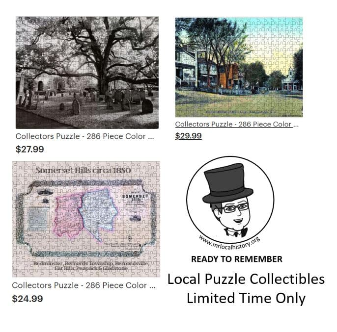 While supplies last, get a collectible puzzle with iconic local images from the Mr. Local History Project.