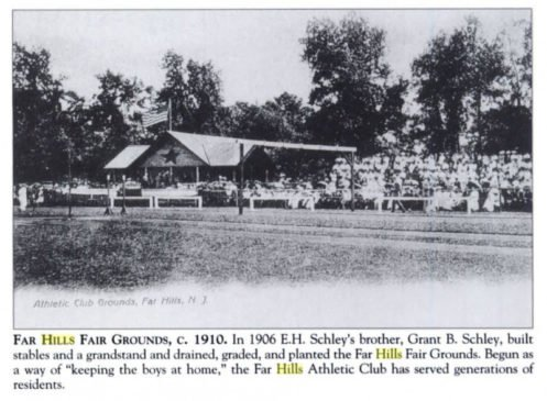 The Far Hills Fairgrounds c.1910