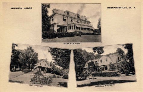 The Shannon Lodge c1930s in Bernardsville