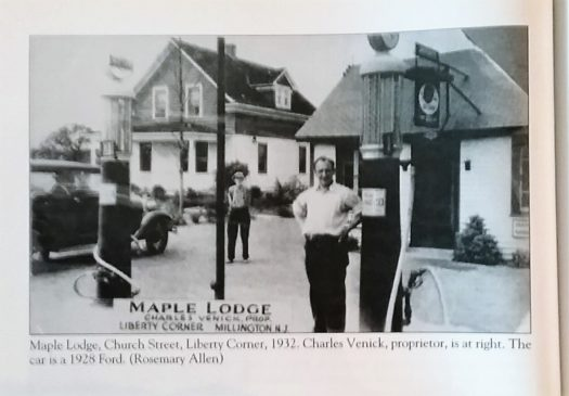 Them Maple Lodge c1932 in Liberty Corner