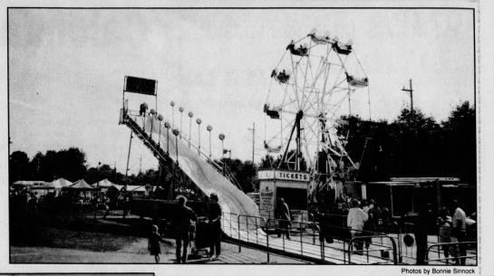 The 1993 Kiwanis Fair in Basking Ridge. Source: Courier News