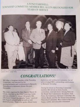 Bernards Township Talk of the Township Magazine c.2002