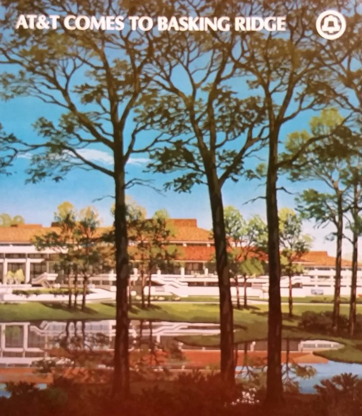 AT&T's brochure of its new Basking Ridge Facility