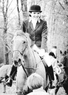 Jackie Kennedy Onassis in Bedminster