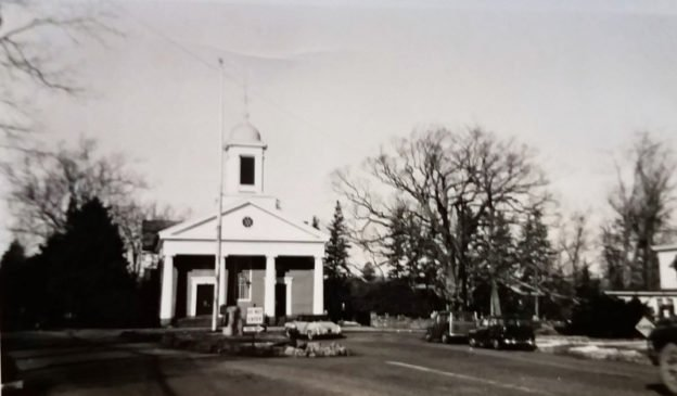 Basking Ridge Downtown c1953