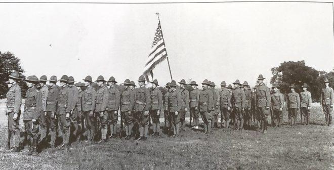 Bernards Township Militia c1919