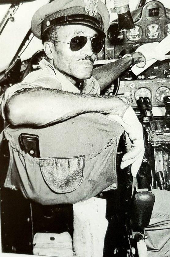 Captain Robert Terry - Flight instructor for Tuskegee Airmen 1941-1945