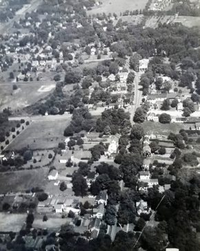 Aerial view Basking Ridge