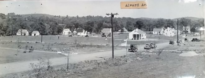 South Alward Ave in Basking Ridge c1940
