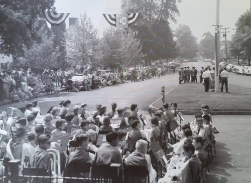 Bicentennial Parade Memorial Day 1960 Downtown Basking Ridge