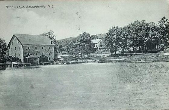 Bunn Lake c1910 Bernardsville