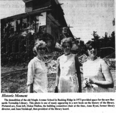 Maple School Demolish 1973