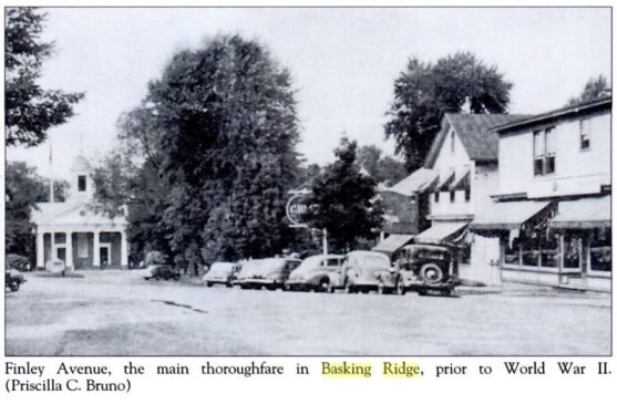 Basking Ridge Downtown 1940s