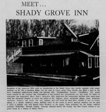 The Shady Grove Inn 1964