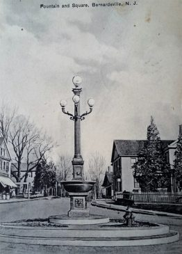 Bernardsville's town center c1900