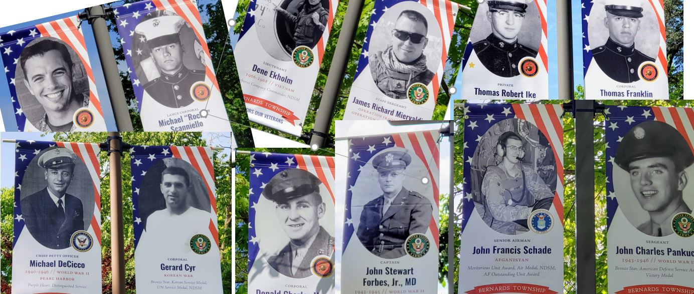Bernards Township Honors our local veterans - Mr Local History