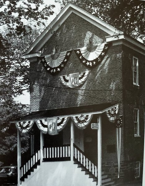 The Township Hall Bernards Township back in 1960 celebrating the Bicentennial.
