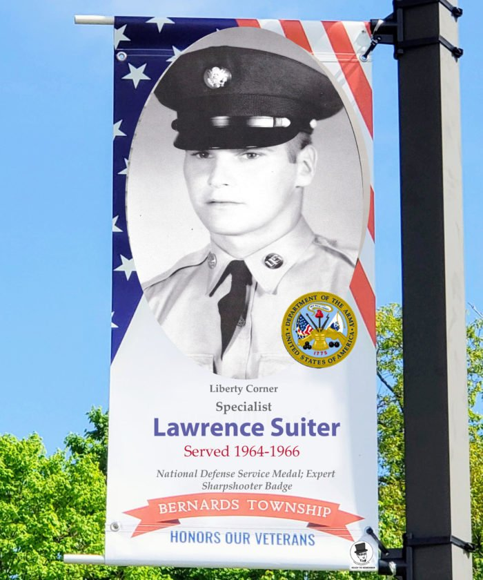 Specialist Lawrence Suiter US Army -Bernards Township Veteran - Mr. Local History Project