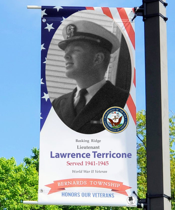 Leut. Larry Terricone US Navy - Mr Local History Project