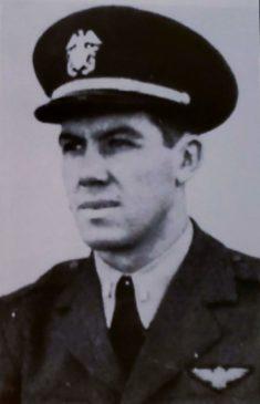 Lieutenant Austin P. Spencer USNA c1943