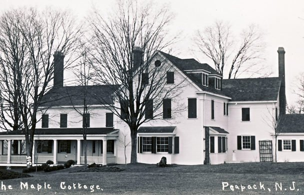 Maple Cottage served as Kate Macy Ladd's first convalescent home before moving to the main Natirar estate.