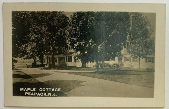 Kate Macy Ladd Maple Cottage c1913