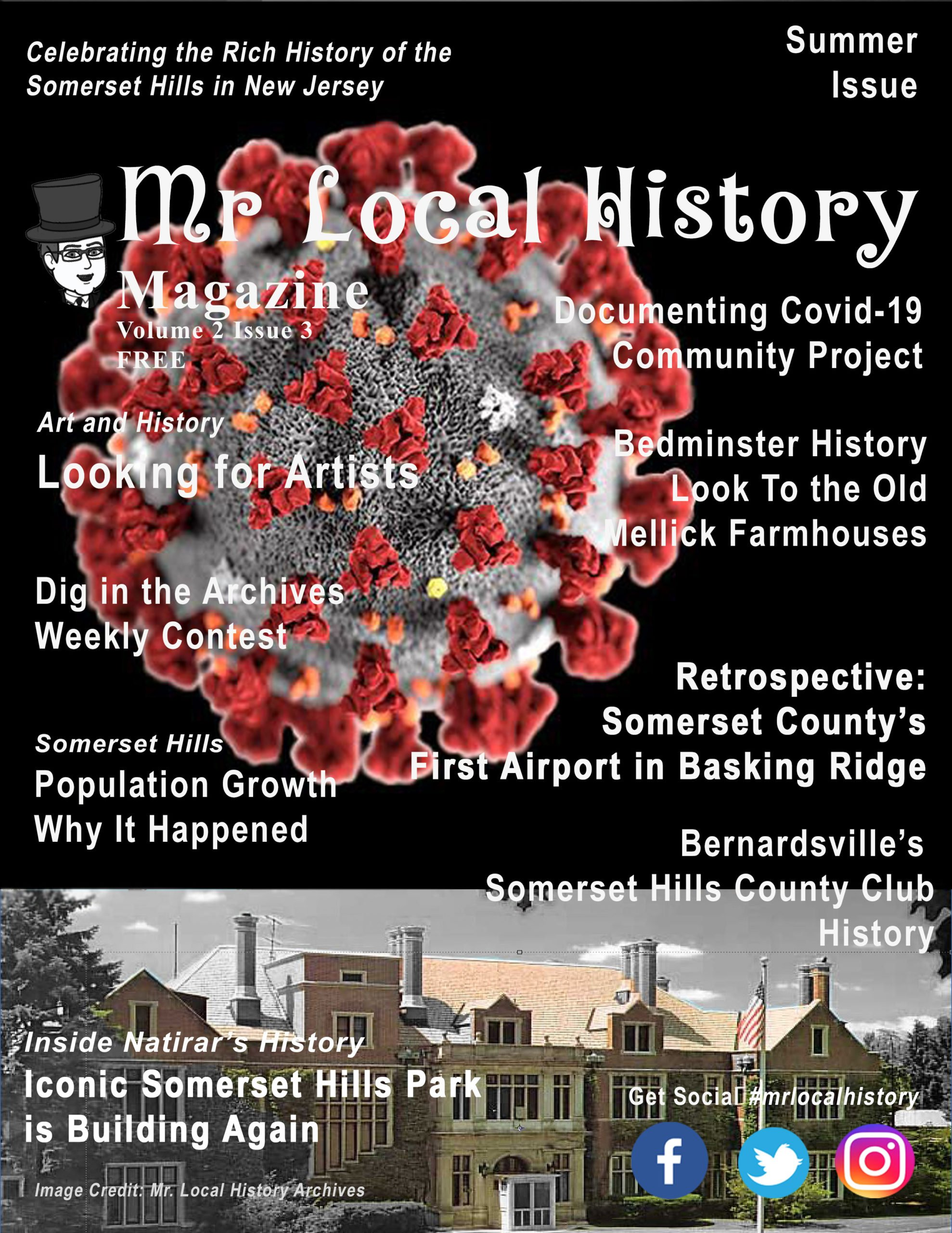 Mr Local History Magazine - Free - Interesting Articles about History in the Somerset Hills