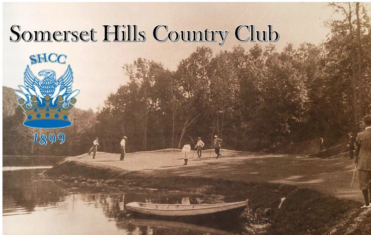 Somerset Hills Country Club c1920 with logo