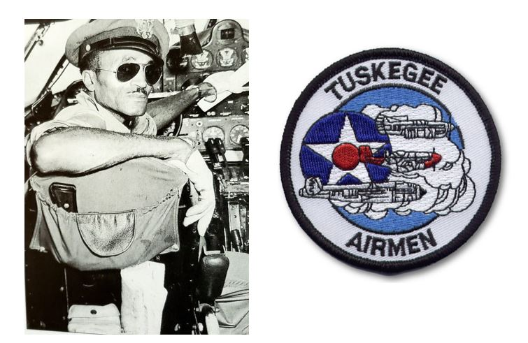 Basking Ridge's USAAF Captain Robert Terry served the United States Army Air Force (USAAF) as a Tuskegee Airmen flight instructor from 1941-1945 and was from Basking Ridge, New Jersey. (1913 – 1958). Source: mrlocalhistory.org