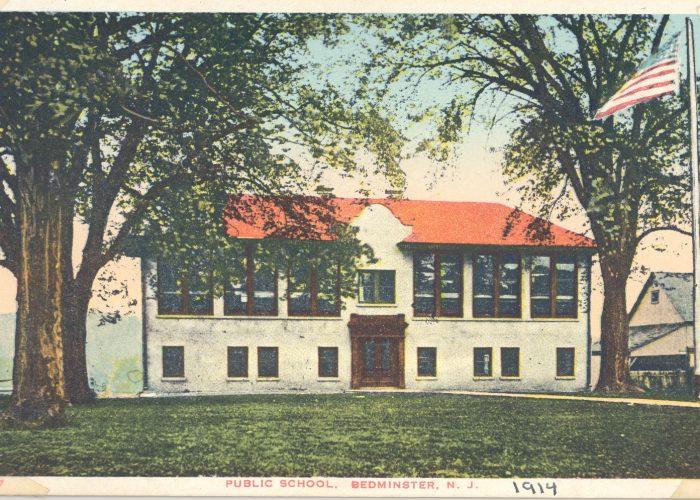 Bedminster School postcard 1914