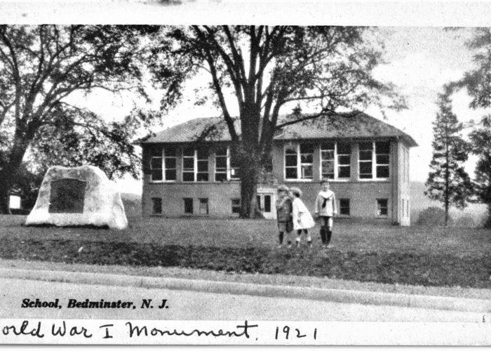 Bedminster School postcard 1921