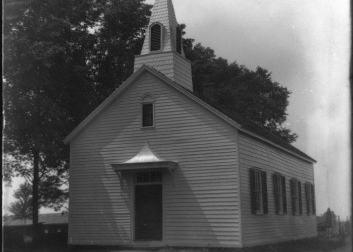 Pluckemin Presbyterian Church School, circa 1910