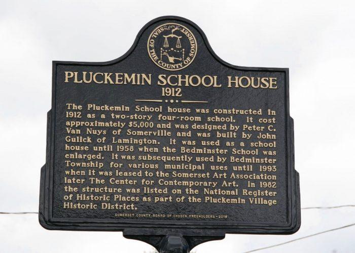 Pluckemin School House-Mr Local History