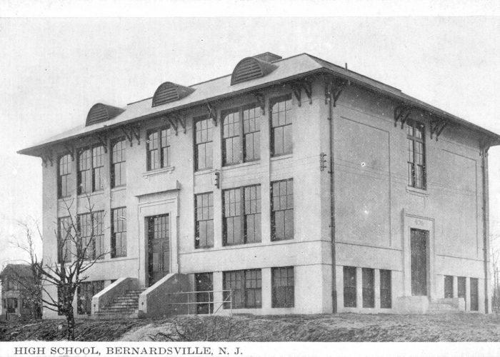 Bernardsville High School Postcard - c1900