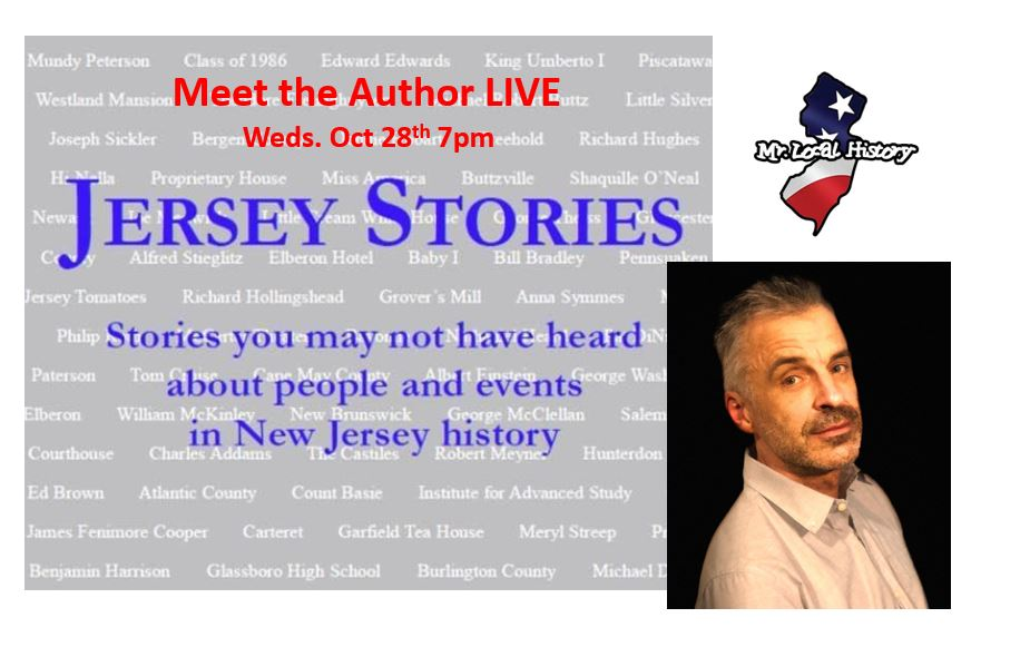Mr Local History welcomes Fred Rossi to talk about his new book Jersey Stories