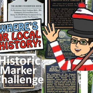It's the Mr. Local History Historic Marker Challenge