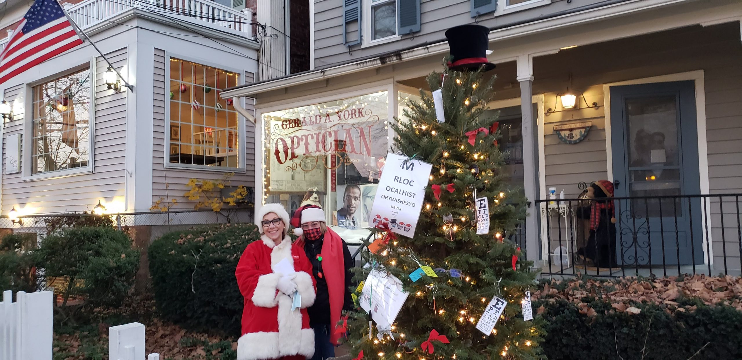 Basking Ridge Community Wish Tree - Mr Local History