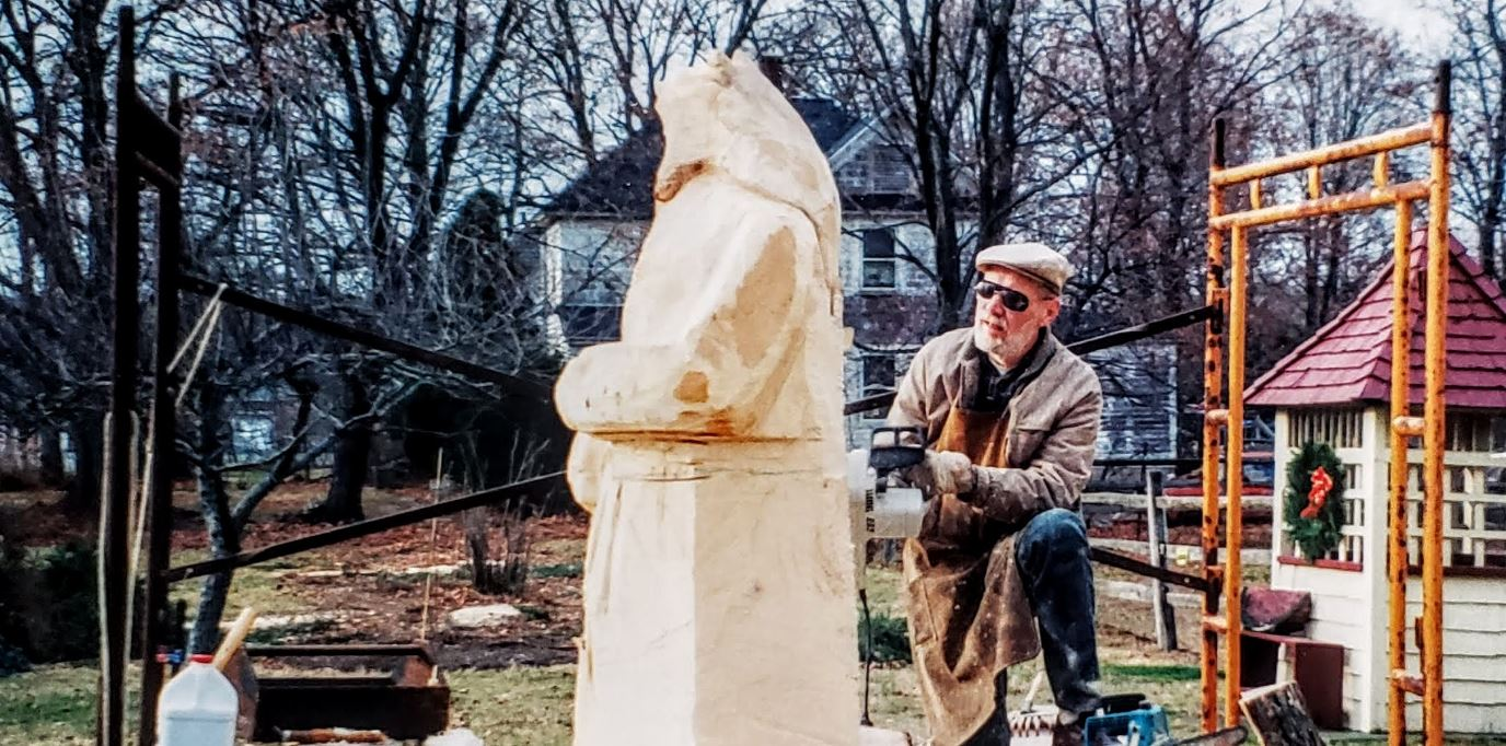 Harry Robinson Sculptor - Bernardsville Mr. Local History
