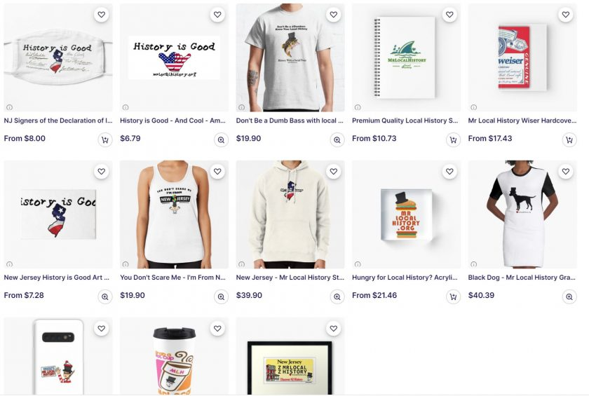 Our Redbubble store has so much fun stuff! Check it out