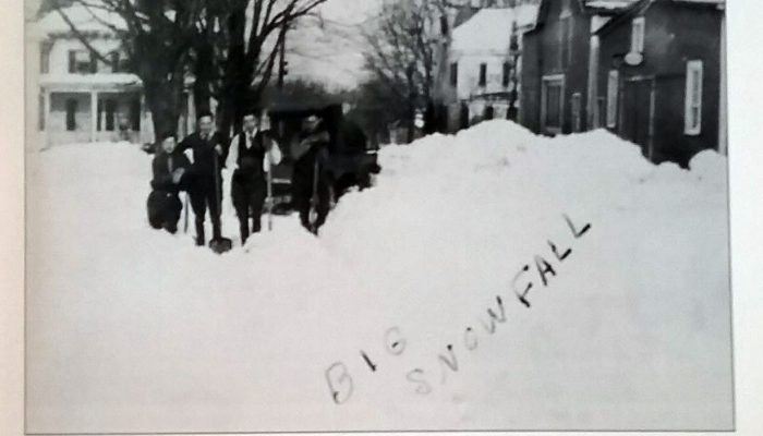 1923 Snow storm Basking Ridge