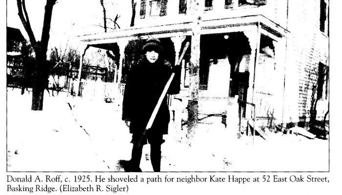 1925 Snow storm Basking Ridge