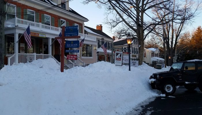 2016 snowstorm Basking Ridge