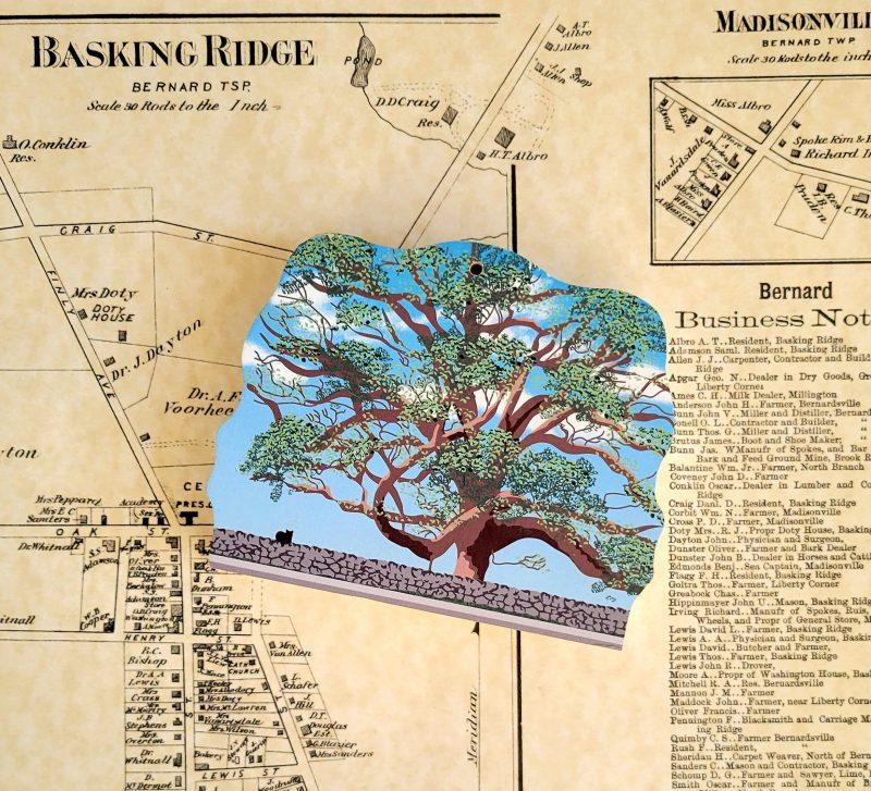 Basking Ridge Oak Tree Keepsake Mr Local History