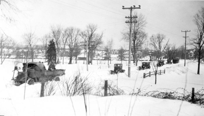 1925 snowstorm Far Hills - NJDH