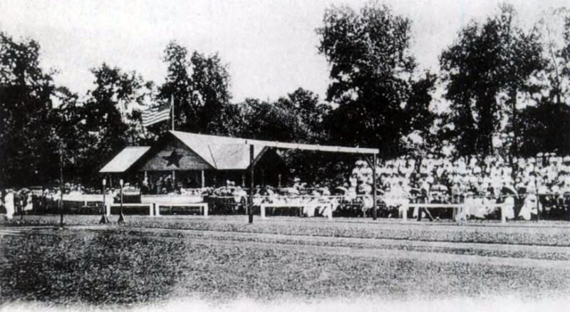 The Far Hills Fairgrounds purchased by Grant B. Schley