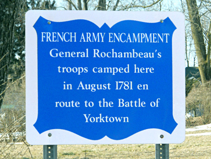 In 1781 over 10,000 French and Continental Soldiers stayed in Liberty Corner