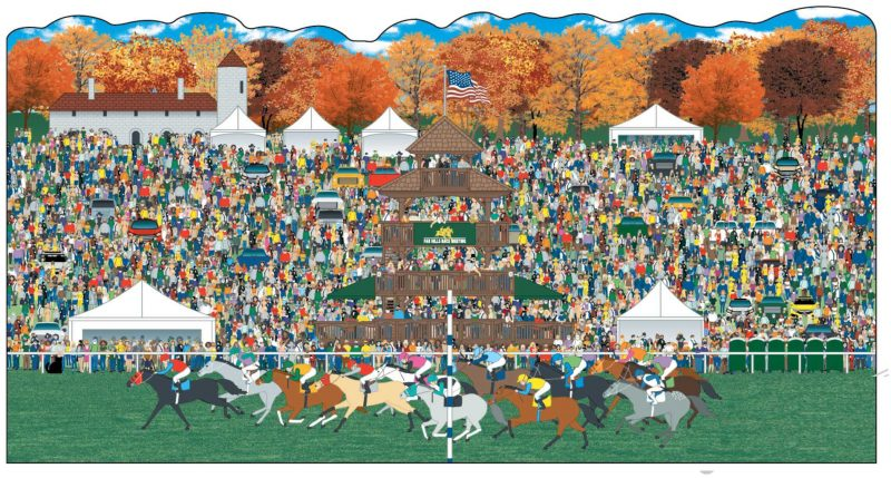 Far Hills Race Meeting 100th Anniversary Collectible