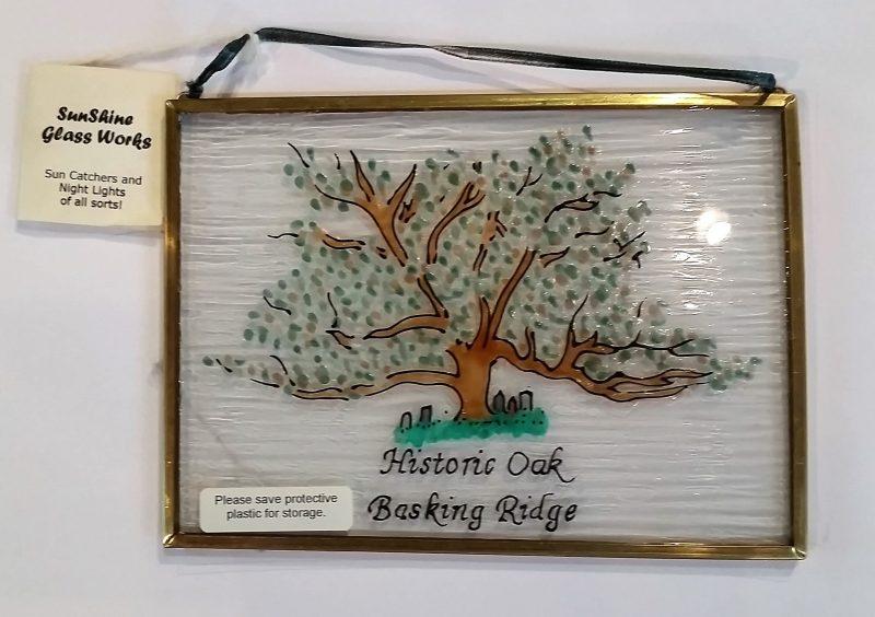 Basking Ridge historic stained glass keepsake