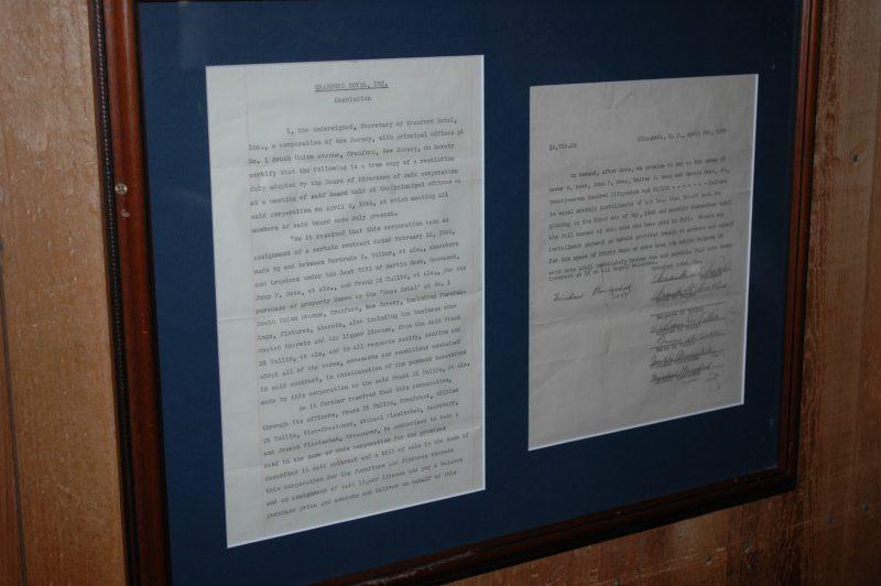 Cranford Hotel DiTullio Document